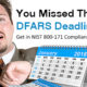 The DFARS Deadline Has Passed